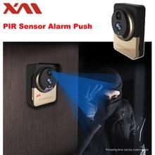 XM Wireless WiFi Video Doorbell Camera IP Door bell IR Night Vision Monitor Camera Video Intercom with 4000 mAh Battery Powered