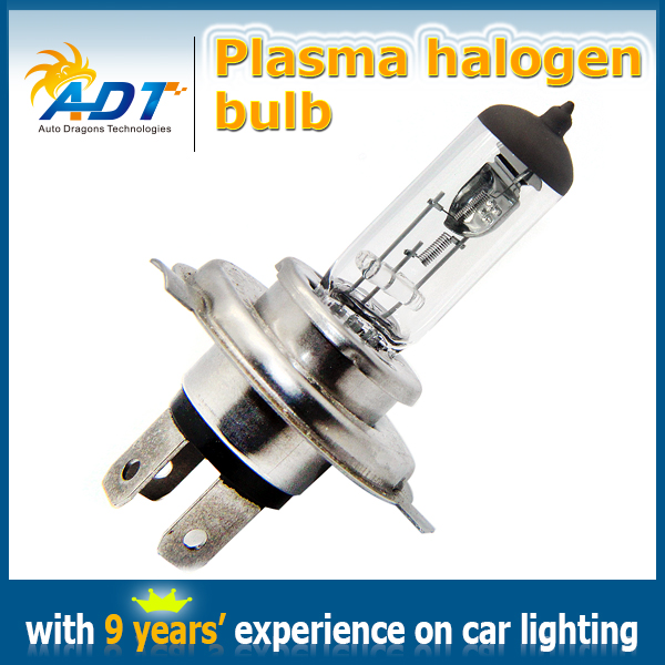 10 Units H4 Xenon HID Bulbs Good Quanlity Headlight Plasma Quartz Ion Bulb 12V 55W Clear Lens Xenon white For Discovery 95-00