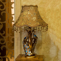 Lampara Led Escritorio New Luxury Table Lamp Romantic Rose Modern Luminaria De Mesa Home Abajur Para Quarto For Living Room