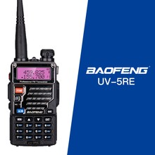 Baofeng UV-5RE pour Police talkie-walkie Scanner Radio double bande Cb jambon Radio émetteur-récepteur UHF 400-520MHz et VHF 136-174MHz(China)