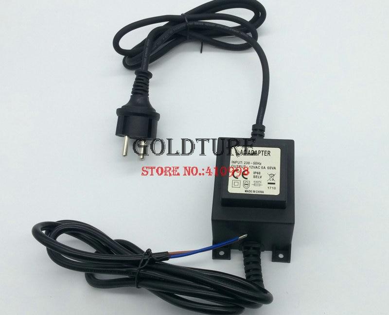 Output AC 12V Transformer 60W 80W 100W 120W Adapter for LED Pool Light IP 68 Underwater Piscina PAR 56 Bulb
