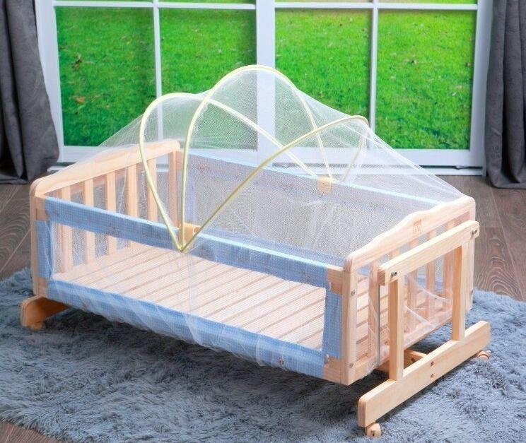 Baby Bed Beschermer.Babybedje Klamboe Tent Luifel Wieg Kinderbedje Babybedje Accessoires