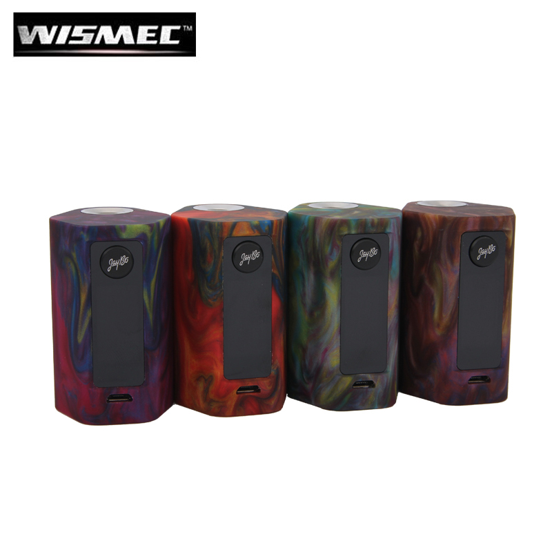 Wismec Reuleaux RX Mini Resin Version 80W RXmini Box Mod Vape Hookah with 2100mah Built-In Battery original wismec active bluetooth music tc box mod with 2100mah built in battery