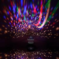LumiParty Child Projector Music Night Light Projector Spin Starry Star Master Kids Baby Sleep Romantic Led