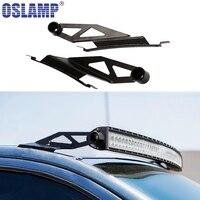 Oslamp 2pcs 50 Curved Light Bar Mounting Brackets Offroad Led Work Light Bar Mounts For Toyota