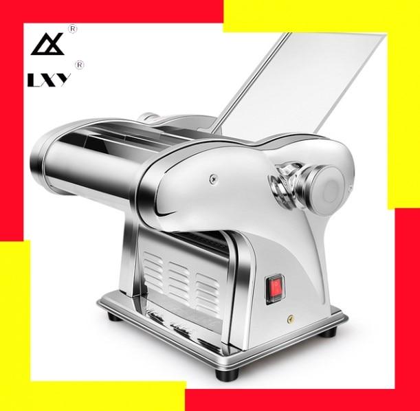 Electric Wonton Dumpling Skin Maker Electric Noodle Machine Thickness Adjustment Press Dough Make Noodles 220V Multifunctional