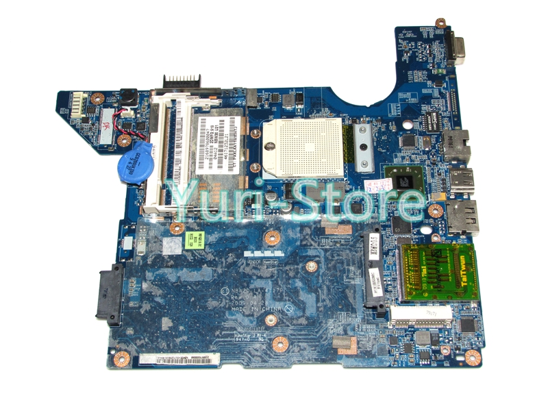 NOKOTION NBW20 LA-4117P Laptop Motherboard For HP DV4 575575-001 DDR2 Mainboard Free CPU 100% tested nokotion laptop motherboard for hp nx7300 nx7400 441094 001 ddr2 mainboard full tested