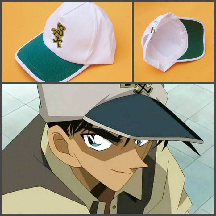 The Cheapest Price Halloween Japnese Anime Detective Conan Hat Case Closed Hattori Heiji Cosplay Adjustable Embroidery Canvas Baseball Cap Toy Gift Costumes & Accessories