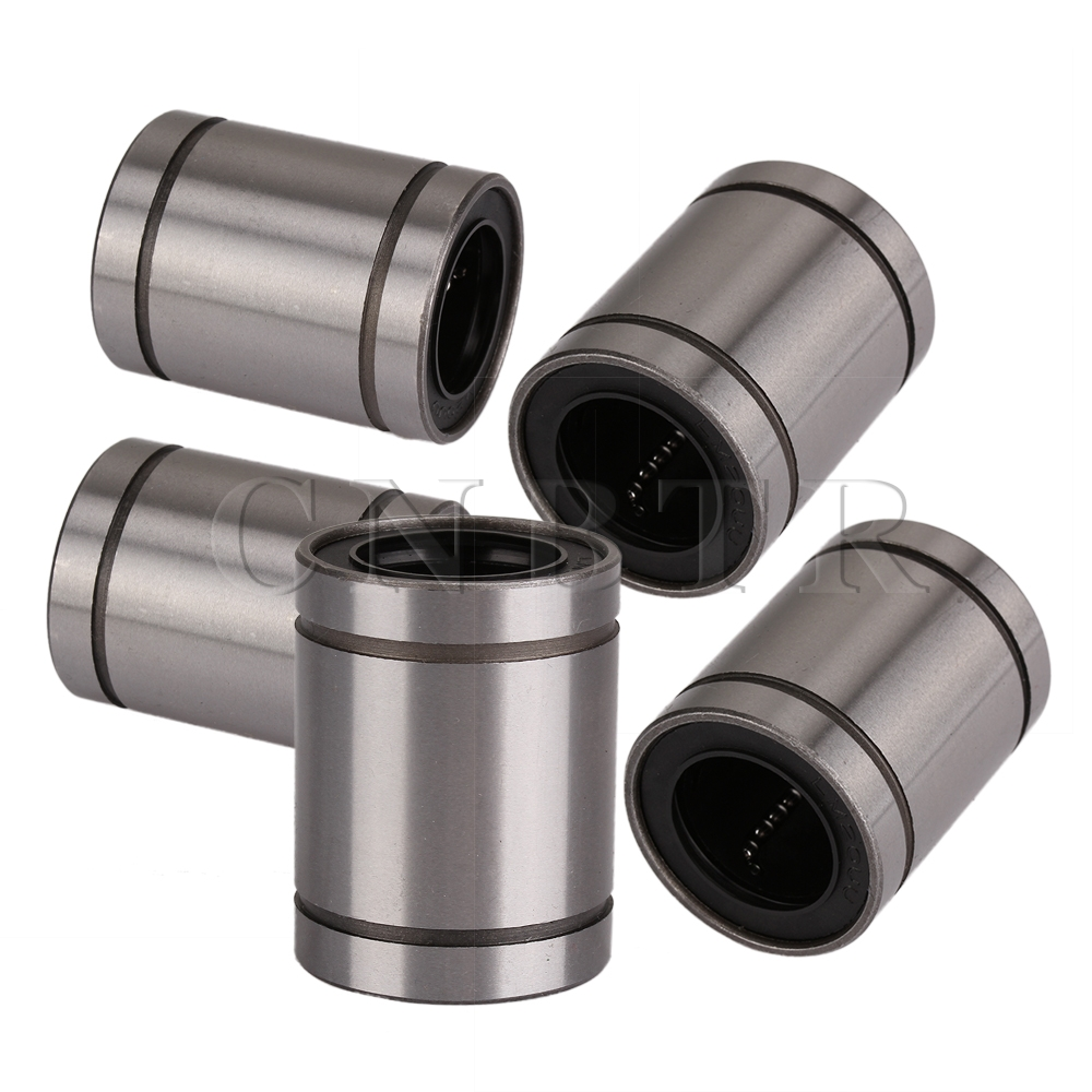 CNBTR 5pcs LM20UU 20mm Linear Bush Ball Bearing Bushing For Reprap Prusa 3D Printer 1pc scv40 scv40uu sc40vuu 40mm linear bearing bush bushing sc40vuu with lm40uu bearing inside for cnc