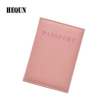 Gorąca Wyprzedaż moda skórzana paszport okładka kobiety Travel bilet paszport Case wysokiej jakości paszport posiadacz słodkie dziewczyny okładka paszport tanie i dobre opinie Posiadacze kart IDENTYFIKATOROWYCH Stałe Pole HEQUN 0 04 kg Wizytówka Unisex 9 8 cm RX010 Bez zamków błyskawicznych