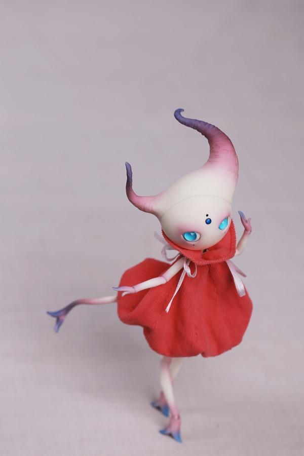 BJD SD Puppen Shan zha qing li 1/12 Körper Modell Mädchen Jungen nude puppe Hohe Qualität rücktritt Spielzeug Shop Zahlen geschenk freies gelegentliche augen-in Puppen aus Spielzeug und Hobbys bei  Gruppe 3
