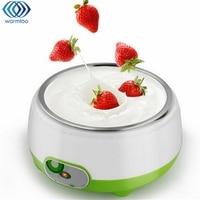 1L Multifuncional Elétrica Automática Máquina De Fabricante de Iogurte Máquina de Iogurte Revestimento de Aço Inoxidável Ferramenta DIY Caçoa o Presente 220 V Plug EUA