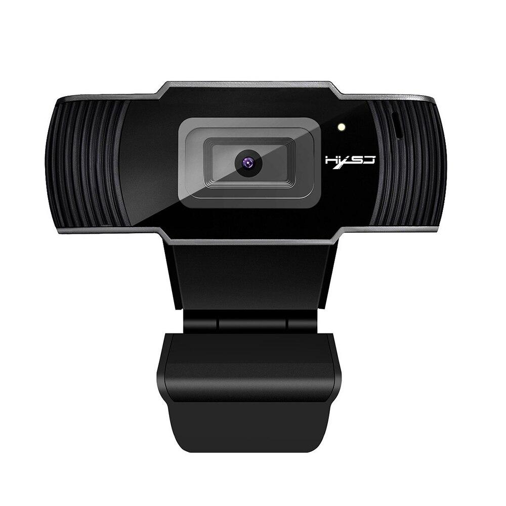 Hxsj s70 hd webcam autofoco web câmera 5 megapixel suporte 720 p 1080 chamada de vídeo computador periférico câmera