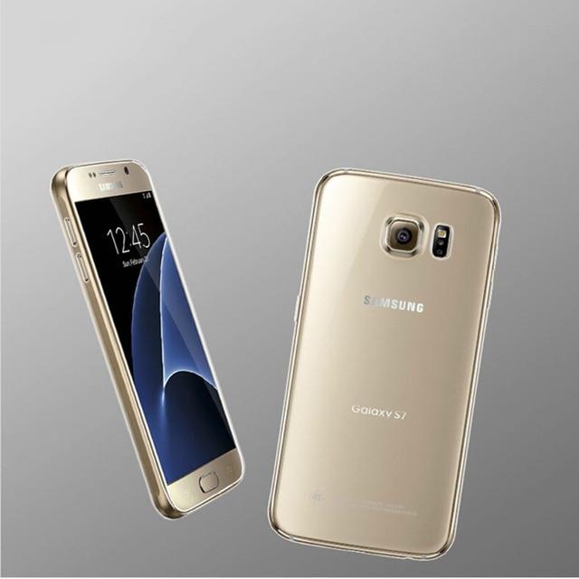 0140f234d6e TPU Transparent Cover Cases For Samsung Galaxy S7 Edge S7edge S 7 Soft  Silicon Case Capinhas