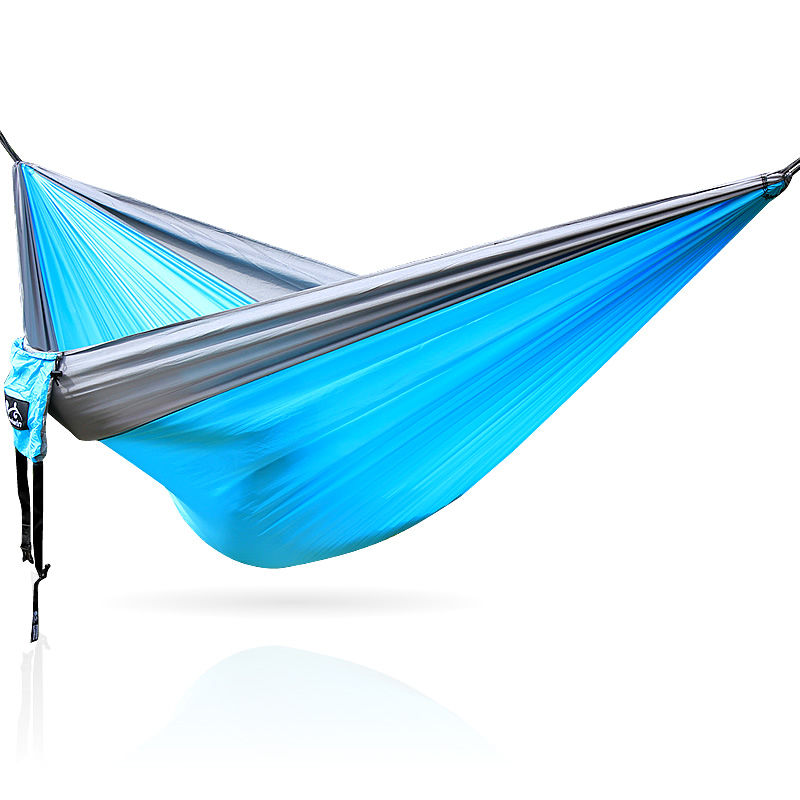 Cloth Hammocks outdoor parachute hammock double person hammock 210t taffeta outdoor parachute cloth hammock nets double hammock military regulations air tent