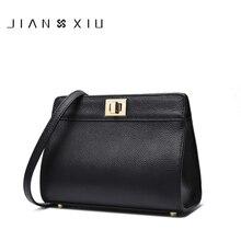 JIANXIU Genuine Leather Bags Bolsa Sac a Main Bolsos Mujer Women Messenger Bag Bolsas Feminina 2017 Small Shoulder Crossbody Bag