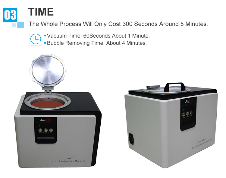 9TU-S007 LCD Touch Screen Repair Automatic Bubble Removing Machine (5)