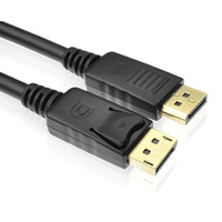 6FT Display Port DP Cable Male To Displayport Male For DELL HP DP LCD Monitors HD