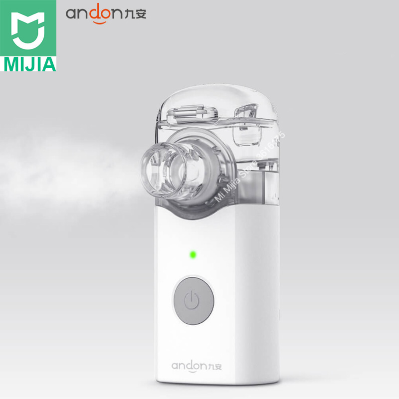 Xiaom Mijia Jiuan Portable Micro atomizer Nebulizer Mini Handheld Inhaler Respirator for Children and Adult for
