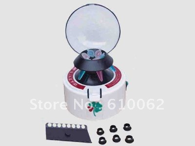 Handheld Mini Chemical Centrifuge Machine, Midget Centrifuge LX-200, 7000 rpmHandheld Mini Chemical Centrifuge Machine, Midget Centrifuge LX-200, 7000 rpm