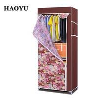 Wardrobe Combination Of Reinforced Folding Cloth Wardrobe Easy Cloth Steel Frame Single Cloth Wardrobe Storage Assembly