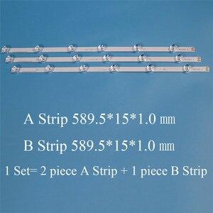 Image 1 - TV LED Backlight Strip For LG innotek drt 3.0 32 32LB5800 UG 32LB580V ZA 32LB580V ZB 6916l 1974A 2223A LC320DUE TV LED Bar Strip
