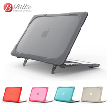 """Fashion Protective Laptop notebook Case Cover Sleeve For Apple Macbook 12inch Touch Bar 2017 2018 Model New Retina 12""""/Kickstand"""