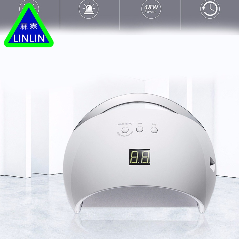 LINLIN The two generation of intelligent lamp lamp Manicure phototherapy lamp drying machine tool Manicure phototherapy machine-in Massage & Relaxation from Beauty & Health    1