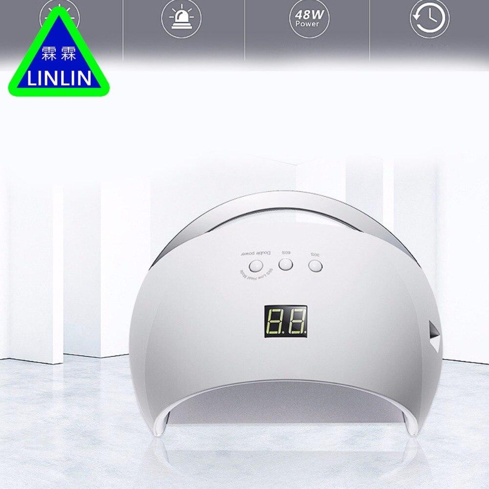 LINLIN dwóch generacji inteligentna lampa lampa Manicure lampa do fototerapii maszyna do suszenia narzędzie do Manicure fototerapia maszyna w Masaż i relaks od Uroda i zdrowie na  Grupa 1