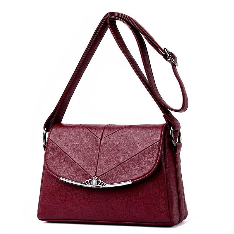 2018 nouveau mode petit pu sac à main en cuir marque femmes messenger sacs de luxe sacs à main femmes sacs designer bandoulière sac sac femme