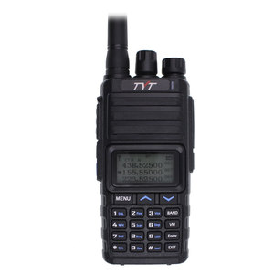 Image 3 - Nieuwe Tyt TH 350 Walkie Talkie Tri Band 136 174 Mhz 220 260 Mhz 400 470 Mhz Tri display 5W Hoge Kwaliteit Twee Manier Radio Fm Transceiver