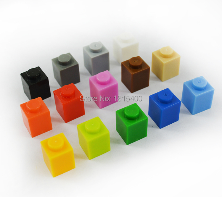 Clásico modelo DIY Lego Compatible bloques de construcción de plástico juguetes