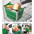High Quality 11*3*8 inches Supermarket Shopping Bag Foldable Tote Reusable Eco-friendly Trolley Bag