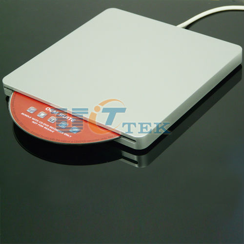 USB 2.0 External Slot in Load 9.5mm CD DVD RW Optical Drive Burner Superdrive For MacBook
