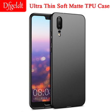 Ultra Thin Soft Matte TPU Case for Huawei P9 P20 P10 Plus Silicone Full Cover for Huawei Mate 7 8 9 10 Honor 7C 8X Nova 2S 3(China)