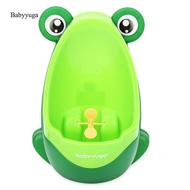Babyyuga Marca Muchachos Urinarios de Pie Separable Rana Bebé Armario Baño Suspensible Pis Bebé Orinal Para Niños Infantiles Penico
