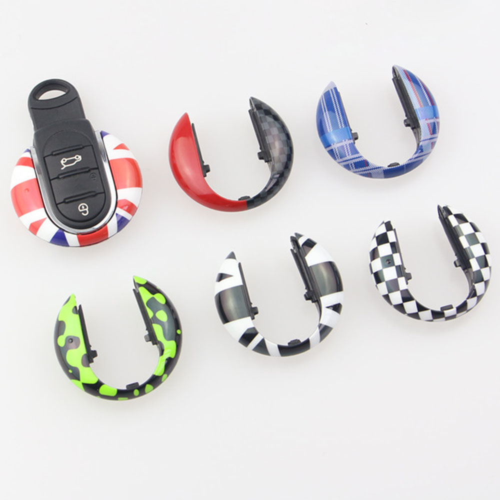 Union Jack Auto Smart Key Case Cover Shell Protector For Mini Cooper JCW F57 F56 F55 F54 F60 Countryman Car Styling Accessories 20pcs m3 m12 screw thread metric plugs taps tap wrench die wrench set