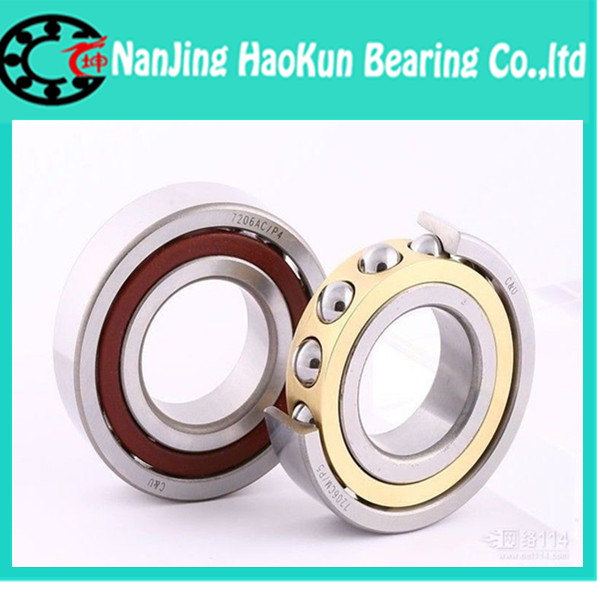 100mm diameter Angular contact ball bearings 7020 C/P5/DT 100mmX150mmX48mm,Contact angle 15,ABEC-5 Machine