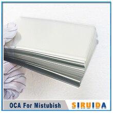 6.5 인치 유니버설 18:9 크기 미쓰비시 광학 투명 접착제 OCA 필름 커팅 삼성 J8 A8 + J6 + LCD 스크린