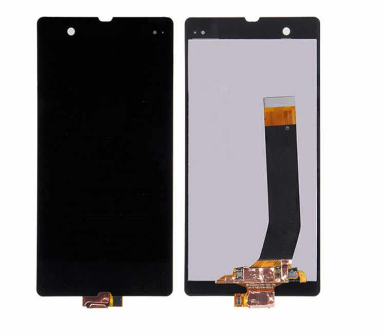 L36H LCD untuk Sony Xperia Z Display L36h L36i C6606 C6603 C6602 C6601 C660X Display Touch Screen Digitizer untuk Sony Z C6603 LCD