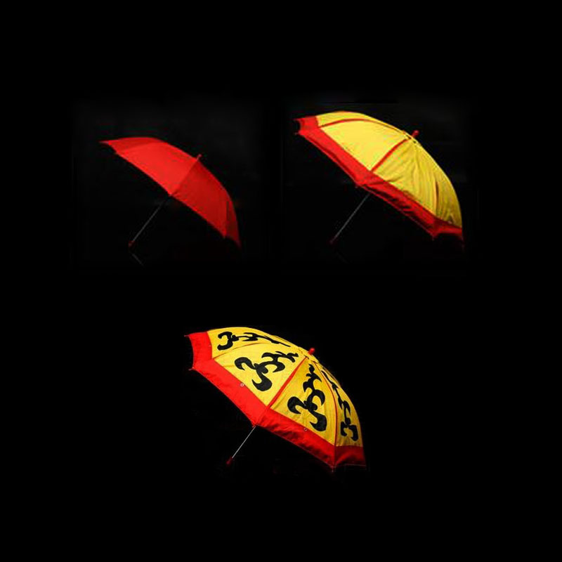 Umbrella Changes Color (Twice Changes) Parasol Production Magic Magic trick illusion Stage Magic Accessory 83060 alluminum alloy magic folding table bronze color magic tricks illusions stage mentalism necessity for magician accessories