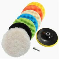 Auto carro Beleza Esponja Disco de Moagem Disco Da Roda de Polimento Disco De Lã Depilação|Lavadora automotiva| |  -