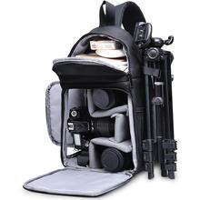 цена на CADeN Photo Camera Sling Bag Shoulder Cross Digital Case Waterproof Rain Cover DSLR Soft Men Women Bag for Canon Nikon Sony SLR