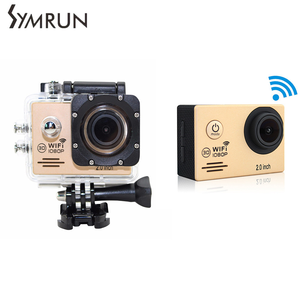 SJ4000 Wifi Camera  Video Cameras Wifi Mini Sport Camera Hd Dv Dvr 1080P Helmet Camcorders  Palo Selfie SJ4000
