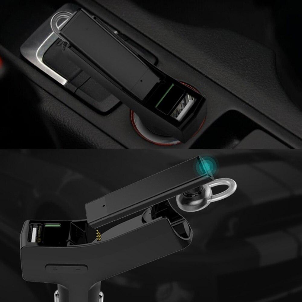 Wallytech как bluetooth наушники с FM и автомобильное зарядное устройство металл беспроводные наушники с FM ЖК-дисплей