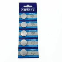 Card 100PCS JNKXIXI Bateria CR2032 3V Lithium Button Battery BR2032 DL2032 ECR2032 CR 2032 Batteries