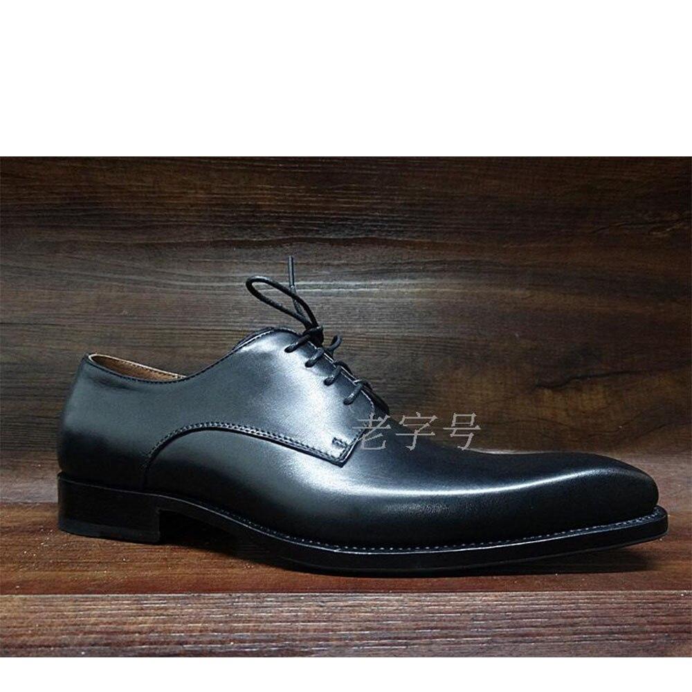 De Welted Italiana Couro Gents Artesanal Elegante Ternos Sapatas Formais Sipriks Goodyear Sapatos Praça Toe Bezerro Vestido Mens Preto n4v6Xq8