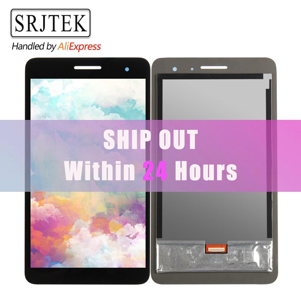 Srjtek Black For Huawei Honor Play Mediapad T1 701 T1 701U T1 701U LCD Display With