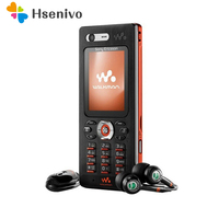100% Original Sony Ericsson w880 w880i Cell Phones Unlocked w880 Mobile Phone 3G Bluetooth MP3 Player & One Year w Free Shipping