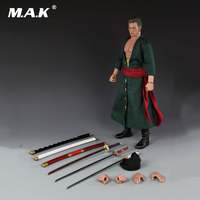 Collection 1:6 Anime Action Figure One Piece Roronoa Zoro Action Figure Model Toy Gift for Children Kid Toys